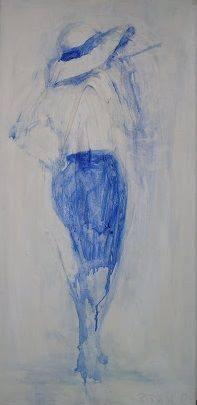 oil on canvas, 90x30, 2013.