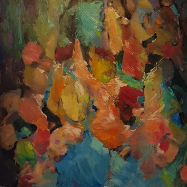 Visual art, paintings.