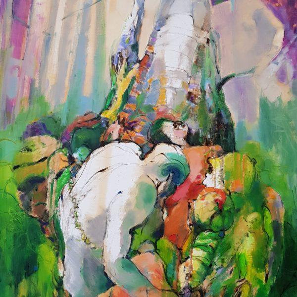 Visual art, paintings